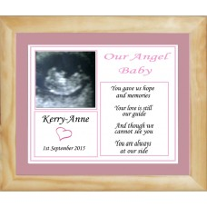Baby Loss, Framed Scan Photo Keepsake Service
