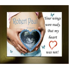 Baby Loss Photo Frame Baby Scan Print