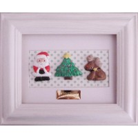 Clay Christmas Character Frame