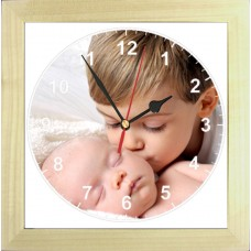 Personalised Round Photo Clock