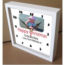 Christmas Personalised Photo Clock