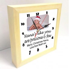 Nana's Like You Personalised Photo Clock