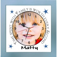 Time spent with Family Photo Clock