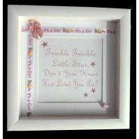 Embellished Twinkle Twinkle Frame PINK