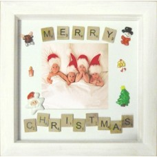 Christmas Embellished Hand Crafted Photo Frame