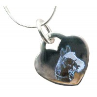 Sterling Silver Pet Engraved Necklace