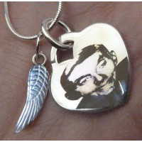 In Memory Silver Keepsake Photo Necklace