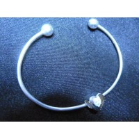Sterling Silver Photo Bead and Bangle