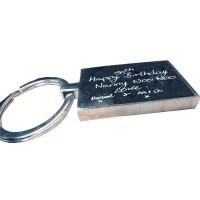 Handwriting Key Ring