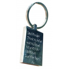 Handwriting Key Ring