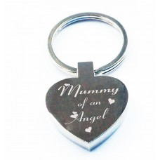 Key Ring Heart Mummy of an Angel