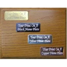 Engraved Name Plate RAL SPECIAL