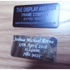 Large Engraved Plate 3 Line RAL SPECIAL