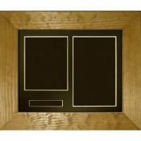 Flat Pine Double, Name Space Medium Box Frame - Frame only (NS)