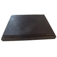 Black Solid Oak Display Plinth