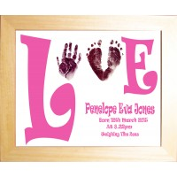 Love Inkless Wipe Prints Keepsake Service