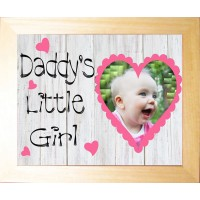 Personalised Baby Photo Keepsake -Daddy's Little Girl