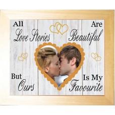 Personalised Photo Keepsake Love Story