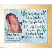 Personalised Photo Frame - A Baby Boy