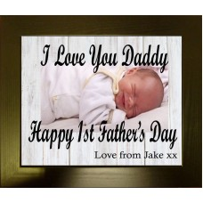 Personalised Photo Frame for Dad
