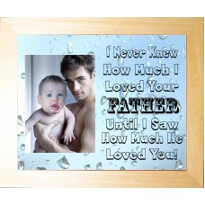Personalised Photo Frame for Father I never knew