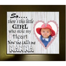 Personalised Baby Photo Luxury - Calls me NANNY