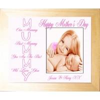 Personalised Photo Keepsake Mummy
