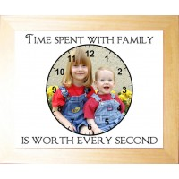 Personalised Photo Frame -Time spent Family