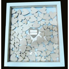 Large Wedding Guest Book Drop Frame