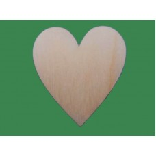 Wooden Hearts for Wedding Guest Drop Frame