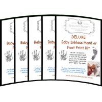 Wholesale Inkless Wipe Handprint Footprint Kits x10