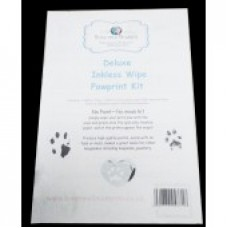 Basic Inkless Wipe Pawprint Kit Mess Free Prints